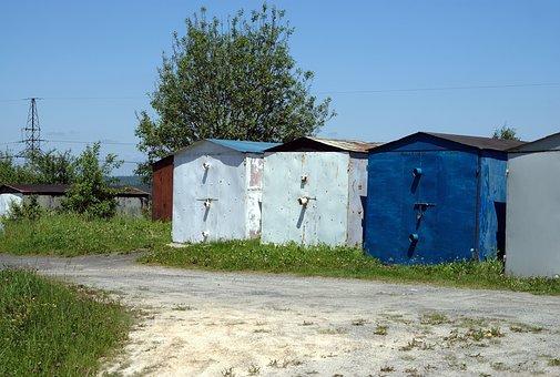garaże ocynkowane